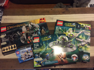 Lego Building Sets (Various, opened but complete)