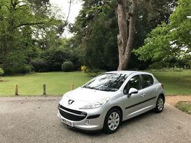 2009 Peugeot 207 1.4 HDI 70 S 5 Door Hatchback Silver