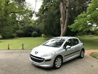 2009 Peugeot 207 1.4 HDI 70 S 5 Door Hatchback Silver (FINANCE AVAILBLE)