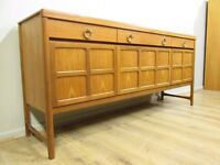 Mid Century Teak Nathan Sideboard - FREE DELIVERY