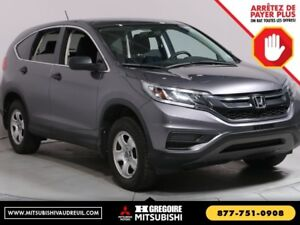 2015 Honda CR-V LX AWD CVT Bluetooth Camera A/C Cruise