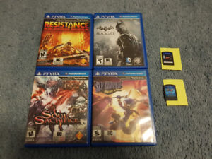 PS Vita Games Lot