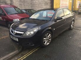 Vauxhall vectra 2.2 sri with sat nav