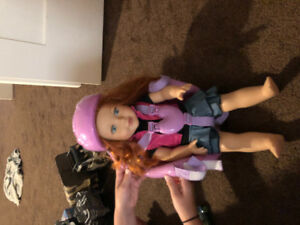 """Bike Carrier accessory for 18"""" doll"""