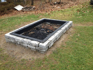 Plasma cut, custom designed metal fire rings, fire pits. Peterborough Peterborough Area image 5