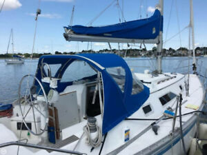 50% ownership of a beautiful 1984 Hunter 31, diesel,chartplotter