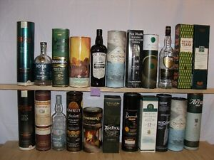 Whisky bottle collection
