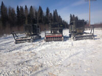 EXPERIENCED MULCHER OPERATORS