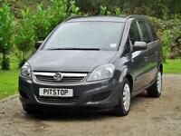 Vauxhall Zafira 1.6 Exclusiv PETROL MANUAL 2012/62