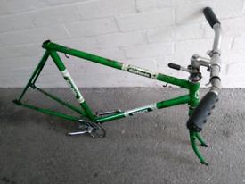 Halfords Escort steel bicycle frame/forks