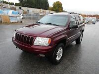 2000 Jeep Grand Cherokee Limited 4.7L 172000KMS SUV,