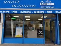 FISH & CHICKEN IN COULSDON FOR SALE (1) , REF: RB278