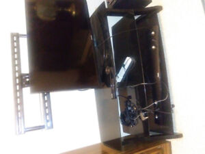 MOVING MUST SELL!! Metal /glass tvstand