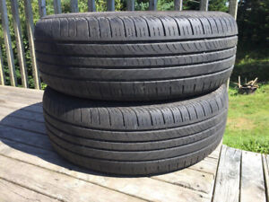 Two P235/60R17 Summer Tires Excellent Tread