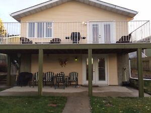 Private, bright, 1 bedroom Walk-Out Basement Suite w/garage