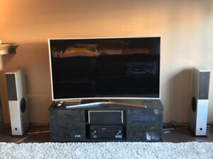 "Samsung 65"" CURVED TV + complete sound system, read ad, awesome"