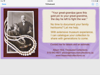 Capture The Story Behind Your Family Heirlooms