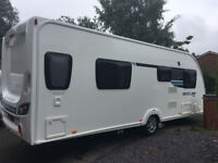 SWIFT STERLING ECCLES LUX 584 2012 CARAVAN - TRANSVERSE BED