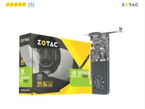 ZOTAC GeForce GT 1030 2GB $120