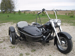 1984 Softail with Sidecar