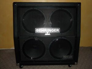 Behringer BG412S Guitar Speaker Cabinet with custom speakers