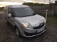 2012/12 Vauxhall combo 1.3cdti sportive silver full service mint van top spec PX welcome