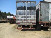 reefer trailer for storage