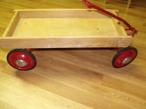 Antique WERLICH toy wagon
