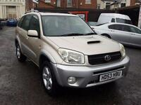 2003 Toyota RAV4 2.0 D-4D DIESEL + MANUAL + IDEAL EXPORT 4X4
