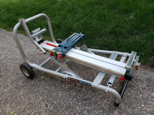 Bosch Gravity-Rise Mitre Saw Stand Model T4B  - CHEAP!