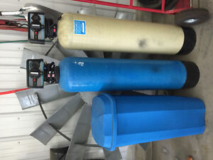 Water softner/ charcoal filter