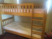 John Lewis Pine solid wood bunk beds