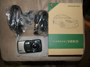 Brand new in box Dash cam and Reverse Cam