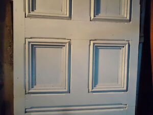ANTIQUE SOLID WOOD DOORS WITH PANELS West Island Greater Montréal image 3