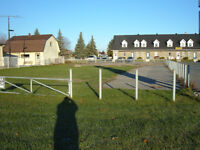 tres beau terrain commercial salaberry de Valleyfield, sur boule