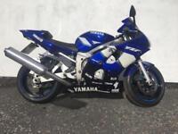 2002 YAMAHA YZF R6 - ONLY 21K MILES - LONG MOT - BLUE