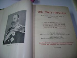 ANTIQUE BOOK - STORY OF THE DOMINION Kingston Kingston Area image 2