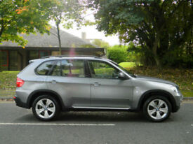 2007 57 BMW X5 3.0 30d SE 5dr WITH F/S/H+SATNAV+REV/CAMERA+TOP SPEC