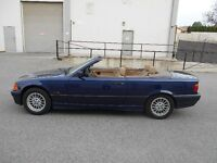 1996 BMW 318i Convertible Auto 126000KM New Roof