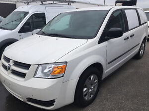 2010 Dodge Grand Caravan Cargo minivan with shelves,divider!