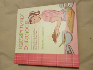 Deceptively Delicious recipe book by Jessica Seinfeld