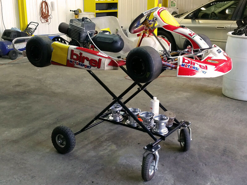 How To Build A Go Kart Stand