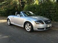 2001 AUDI TT 1.8 ROADSTER QUATTRO (NEW MOT AND SERVICE INCLUDED)