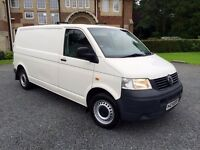 MINT LATE 2005 VOLKSWAGEN TRANSPORTER T28 102 1.9TDI LWB!NO VAT!*MOT!*TAX!*LIKE NEW!*NEW TYRES!*
