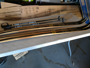 Antique Skis and Poles