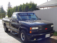 1992 GMC with a chevy grill