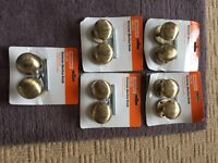 ANTIQUE BRASS MORTICE DOOR KNOBS JOB LOT