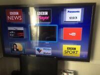 Pansonic 47 inch led smart 3d TV faulty