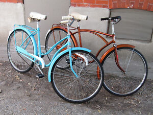 SUPERB HIS AND HER'S VINTAGE BIKES