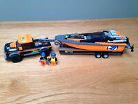 Lego boat truck trailer